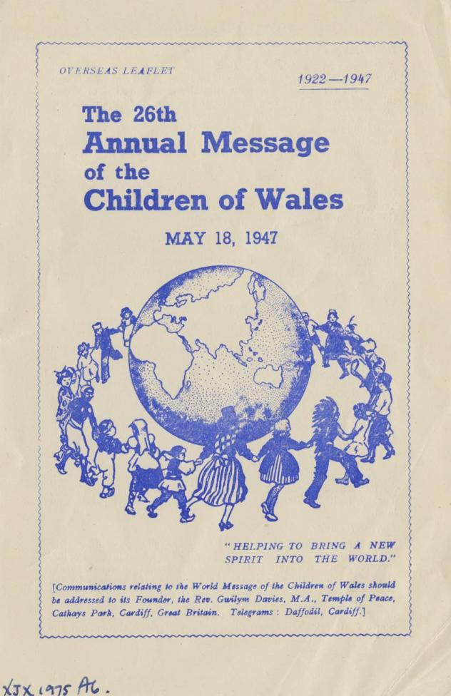 Source: Wales For Peace