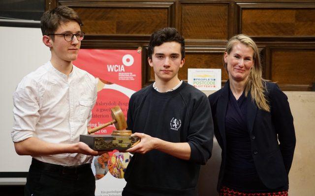 Wales Schools Debating Champions 2017
