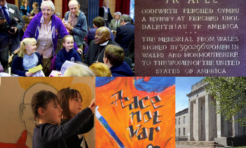 Wales for Peace collage
