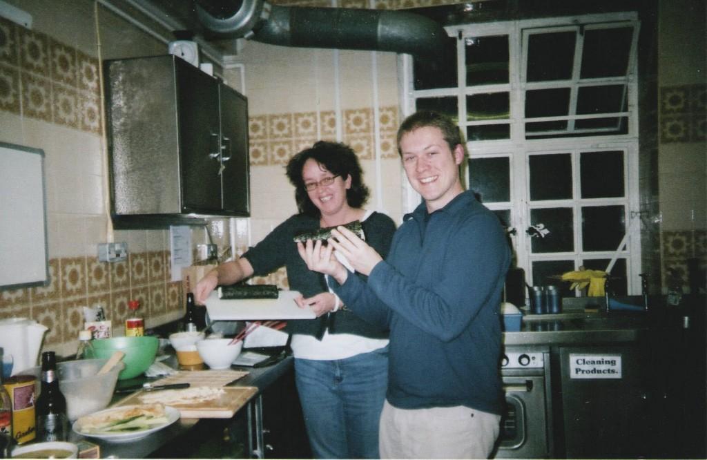 Japanese food evening2 2005-6 from Kiyo Roddis