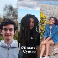 Political Hand in of Voices by Climate Cymru